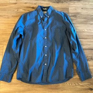 J crew slim large shirt